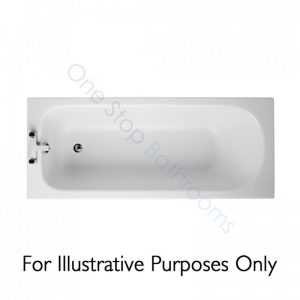 Ideal Standard Alto CT 1700 x 700 5mm Acrylic Bath with Twin Grips – No TH – 149L