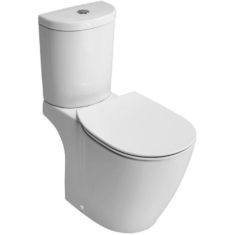 Ideal Standard Concept Arc CC WC Pan, Cistern & Soft Close Seat