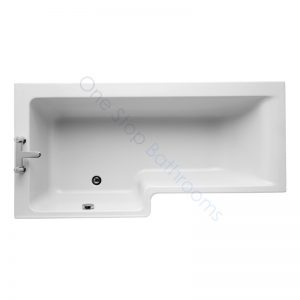Ideal Standard Concept Space 5mm Acrylic 1700mm Square Showerbath – LH