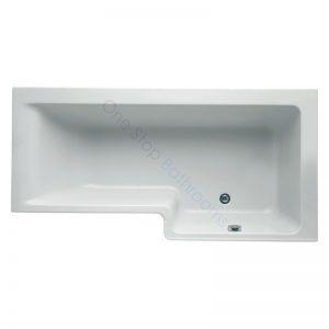Ideal Standard Concept Space 5mm Acrylic 1700mm Square Showerbath – RH
