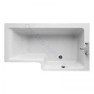 Ideal Standard Concept Space 5mm Acrylic 1500mm Showerbath – RH
