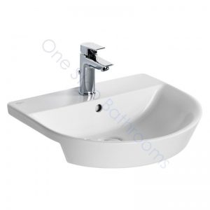 Ideal Standard Concept Air Arc 50cm 1TH Semi-countertop Basin