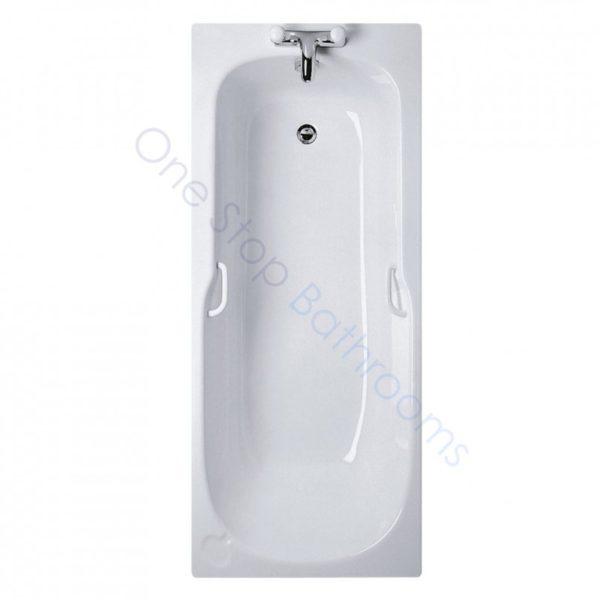 Ideal Standard Studio 1700 x 700mm Bath with Twin Grips