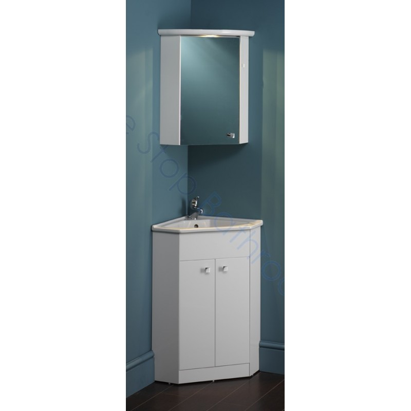 Eastbrook Diamante Corner Unit Basin Corner Mirror Cupboard Light Cornice Eastbrook Roca Inspira And Carron Baths