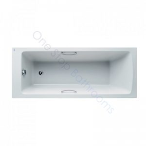 Ideal Standard Tempo Arc 5mm Acrylic 1700 x 700mm Bath with Twin Grips
