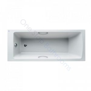 Ideal Standard Tempo Arc 5mm Acrylic 1700 x 700mm Bath with Twin Grips – Water Saving