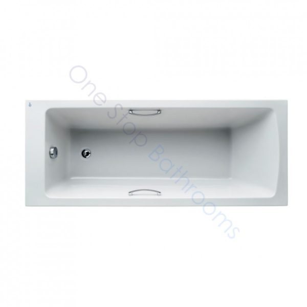Ideal Standard Tempo Arc 5mm Acrylic 1700 x 700mm Bath with Twin Grips - Water Saving