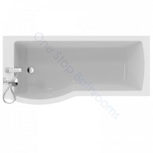 Ideal Standard Tempo Arc 5mm Acrylic Showerbath 1700mm – LH