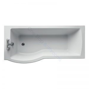 Ideal Standard Tempo Arc Idealform Plus+ 1700mm Showerbath – LH