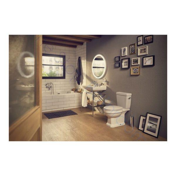 Roca Carmen Close Coupled WC Pan, Cistern & Seat