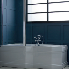 Carron Highgate Showerbath 1700 x 900-750 x 540mm Carronite