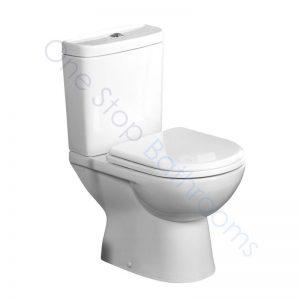 Tavistock Micra Close Coupled WC Pan, Cistern & Soft Close Seat