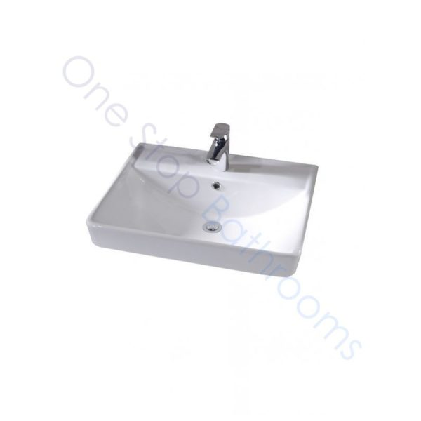 Tavistock Compass Gloss White 800mm Wall Hung Drawer Unit and Basin with 1 Tap Hole