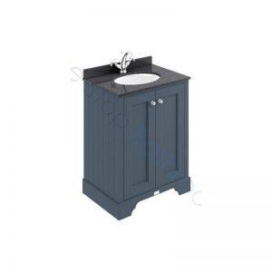 Bayswater 600mm 2 Door Marble Top Basin Cabinet