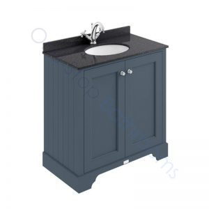 Bayswater 800mm 2 Door Marble Top Basin Cabinet