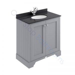 Bayswater 800mm 2 Door Marble Top Basin Cabinet