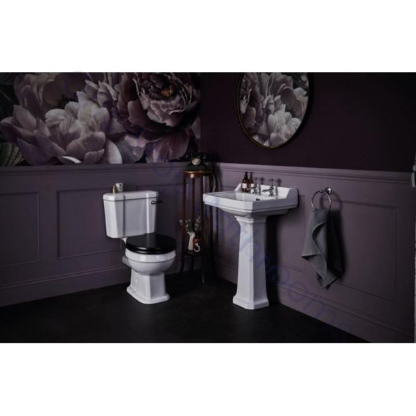 Bayswater Fitzroy Comfort Height Low Level Close Coupled WC Pan, Cistern & Seat