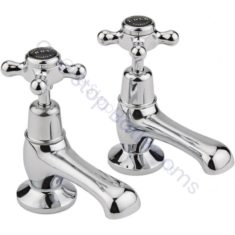 Bayswater Crosshead Dome Collar Basin Taps