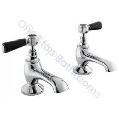 Bayswater Lever Hex Collar Bath Taps