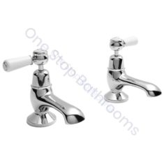 Bayswater Lever Dome Collar Bath Taps
