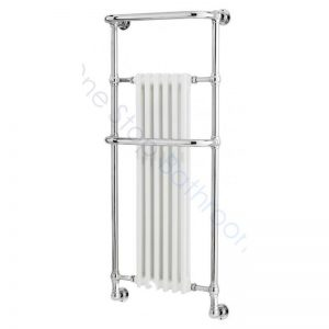 Bayswater Traditional Franklyn 1365mm White Towel Rail