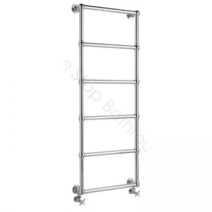 Bayswater Traditional Juliet 1548mm Wall Mounted Chrome Towel Rail