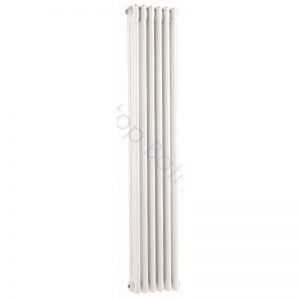 Bayswater Traditional Nelson 1500 x 300mm Triple Vertical Radiator White