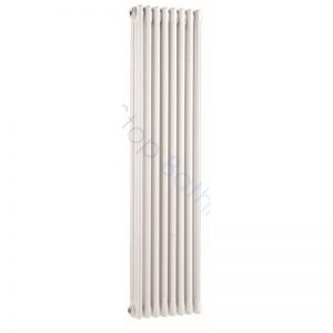 Bayswater Traditional Nelson 1500 x 400mm Triple Vertical Radiator White