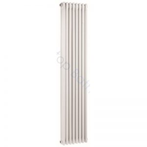 Bayswater Traditional Nelson 1800 x 400mm Triple Vertical Radiator White
