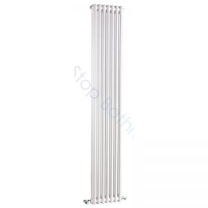 Bayswater Traditional Nelson 1800 x 335mm Double Vertical Radiator White