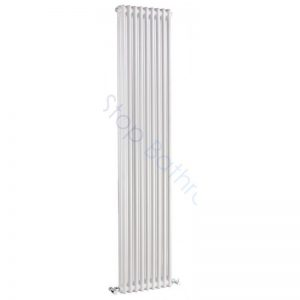 Bayswater Traditional Nelson 1800 x 425mm Double Vertical Radiator White