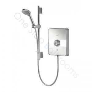Aqualisa Lumi 8.5kw Electric Shower -White/Chrome