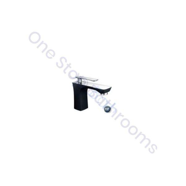 Eastbrook Helston Mono Basin Mixer inc Waste - Smooth Black