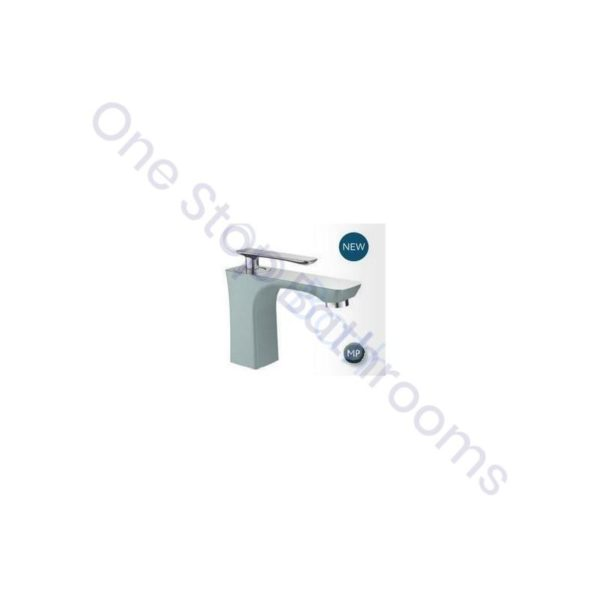 Eastbrook Helston Mono Basin Mixer inc Waste - Matt Smooth Grey