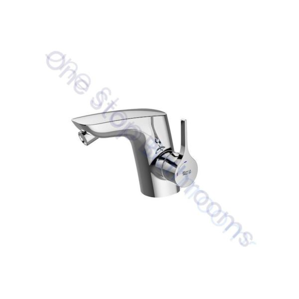 Roca Insignia Bidet mixer with pop-up waste, Cold Start