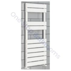 Addington Type10 Eastbrook Towel Rail 790x400mm – Gloss White