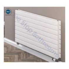 Addington Type21 Horizontal 588x1200mm Radiator – Matt Anthracite