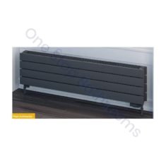Addington Type22 Horizontal 588x1000mm Radiator – Matt Anthracite