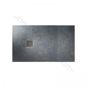 Roca Terran Extra Slim Frameless Resin Shower Tray 1400 x 800mm Slate
