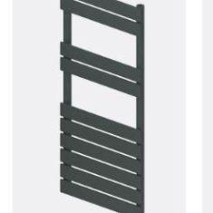 Addington Type10 Eastbrook Towel Rail 1110x400mm – Matt Anthracite