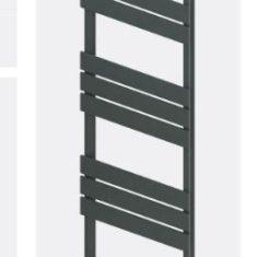 Addington Type10 Eastbrook Towel Rail 1750x400mm – Matt Anthracite