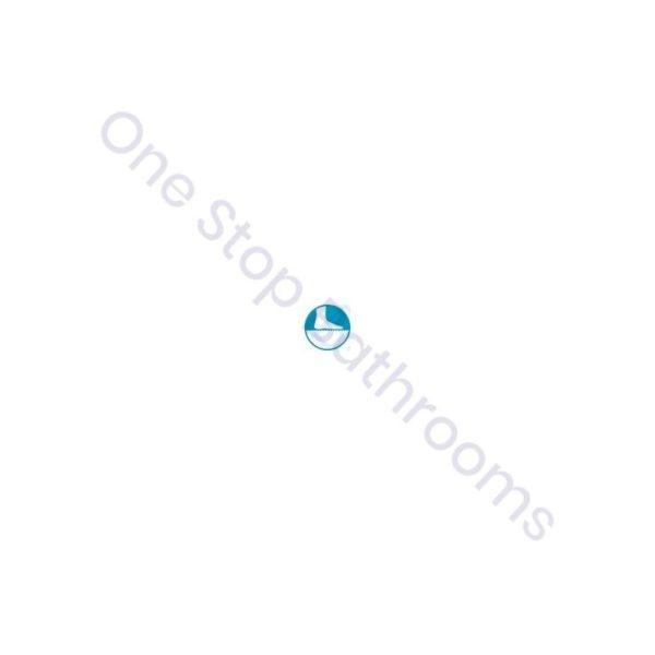Roca Terran Extra Slim Frameless Resin Shower Tray 1000 x 800mm White