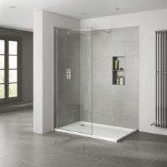 April 10mm Wetroom Panel – Clear 1100mm