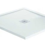April Waifer®Gloss White Shower Tray – 900x900mm