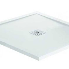 April Waifer®Gloss White Shower Tray – 800x800mm