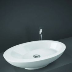RAK Infinity 45cm Slimline Basin Right Hand