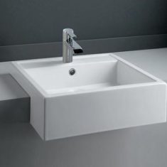 RAK Nova 46cm Semi Recessed Basin 1TH