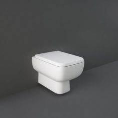 RAK Series 600 Rimless Wall Hung Pan with Sandwich Soft Close Seat