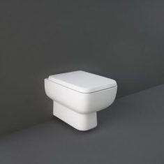 RAK Series 600 Rimless Wall Hung Pan with Sandwich Soft Close Seat