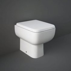 RAK Series 600 Back to the Wall Pan with Slimline Wrap over Soft Close Seat